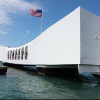USS Arizona Memorial, Pearl Harbor, Honolulu, Hawaii