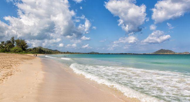 Kailua Beach Park Honolulu And Oahu Hawaii Usa