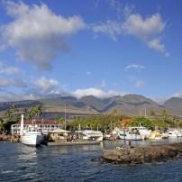 Pier, Jetty, Harbor, Lahaina, West Maui, Maui, Hawaii, USA