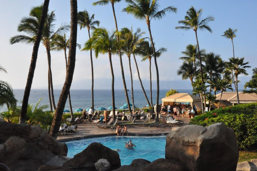Swimming Pool, Westin Kaanapali, Kaanapali, West Maui, Maui, Hawaii, USA