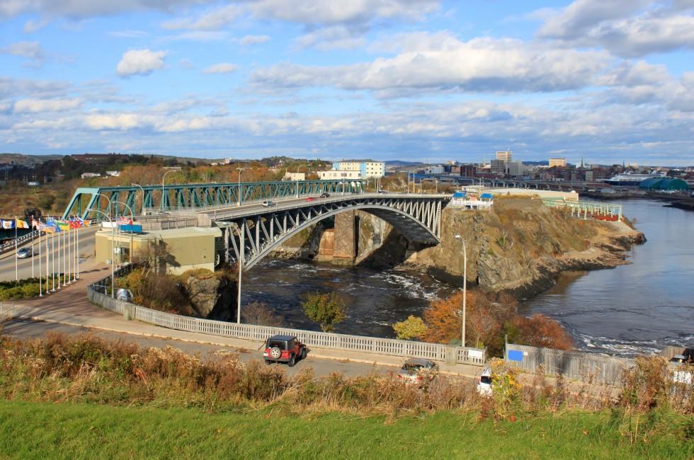 Reversing Falls, Bridge, Saint John, Canada