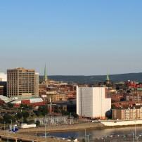 Skyline, Downtown, Saint John, New Brunswick, Canada