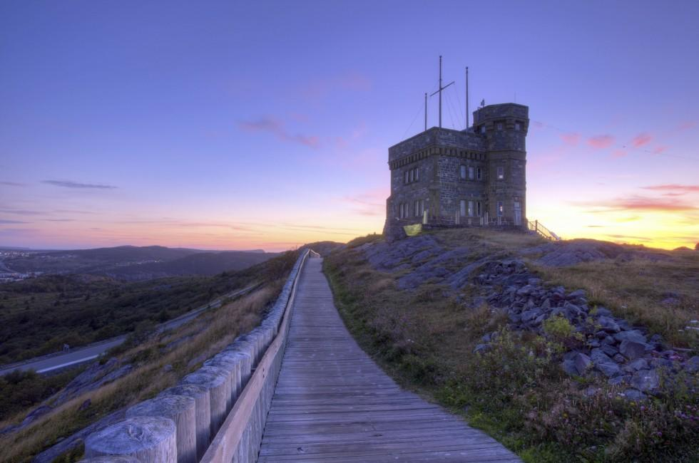 Cabot Tower, St. John's, Newfoundland, Canada