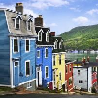 Houses, St. John's, Newfoundland and Labrador, Canada