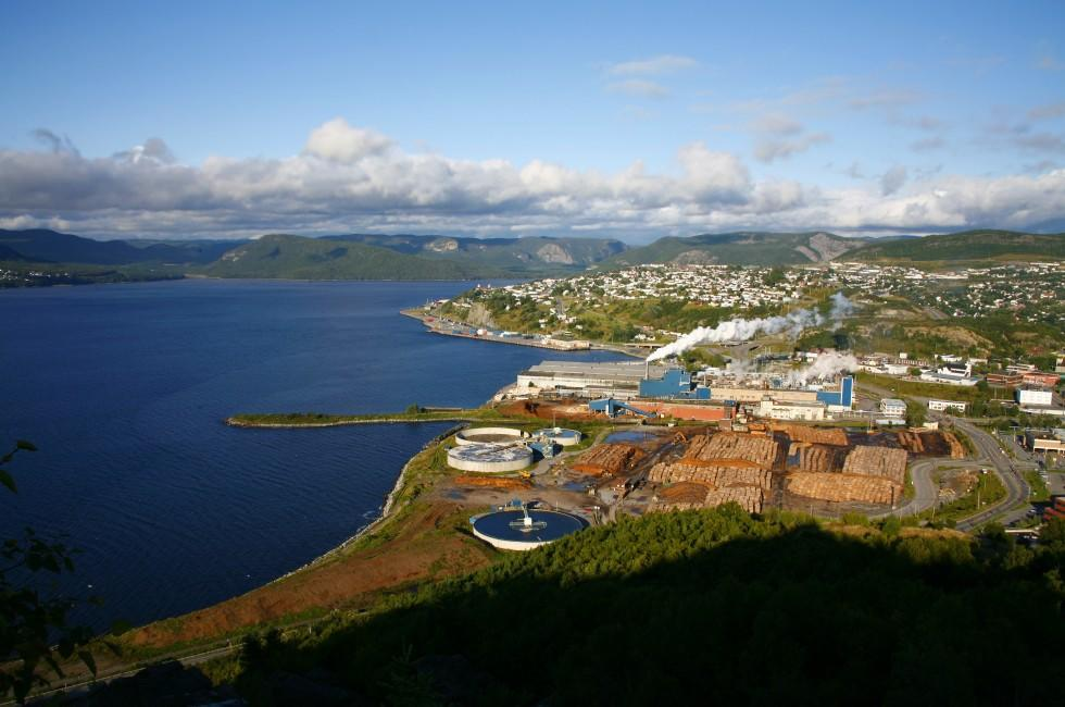 Paper Mill, Bay of Islands, Corner Brook, Newfoundland, Newfoundland and Labrador, Canada
