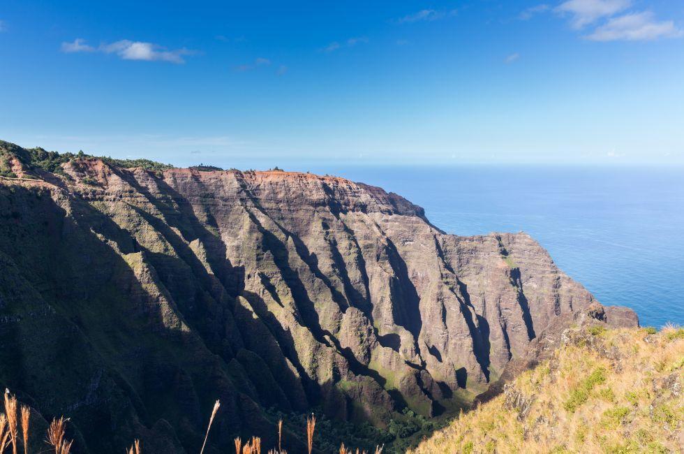 Awaawapuhi Trail, Koke'e State Park, Na Pali Coast, Kauai, Hawaii