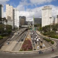 Highway, Downtown, Avenida Paulista and Bixiga, Sao Paulo, Brazil
