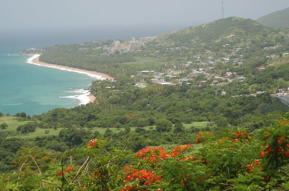 Coastline, Puerto Rico