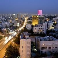 Night, Cityscape, Amman, Jordan, Israel