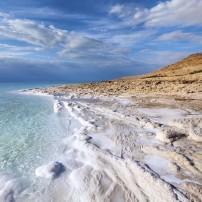 Coastline, Dead Sea, Israel