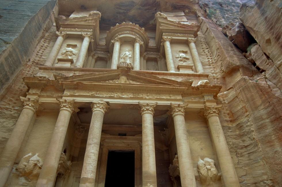 Siq, Nabataean Ruins, Petra, Jordan
