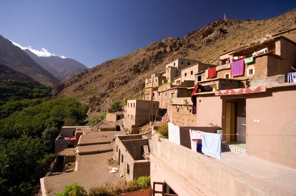 Mountain Village, High Atlas, Morocco