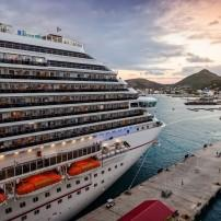 Cruise Ship, Philipsburg, St. Maarten, Caribbean