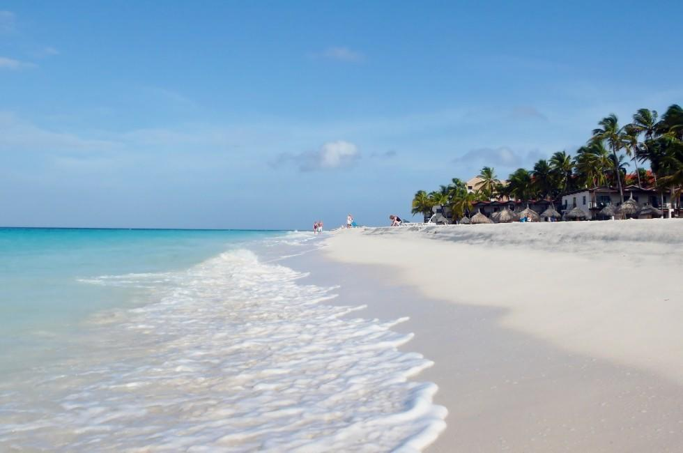 Beach, Manchebo and Druif Beaches, Aruba, Caribbean