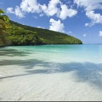 Coastline, Seaside, maho Bay Beach, North Shore, St. John, USVI