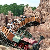 Big Thunder Mountain Railroad, Walt Disney World, Orlando, Florida, USA