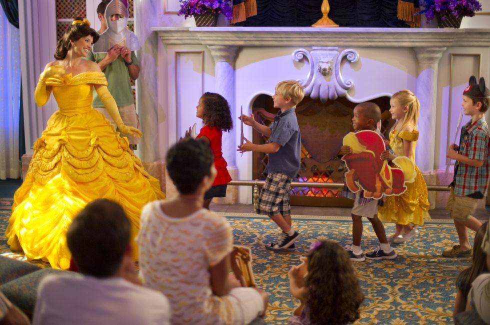 Enchanted Tales with Belle, Walt Disney World, Orlando, Florida, USA
