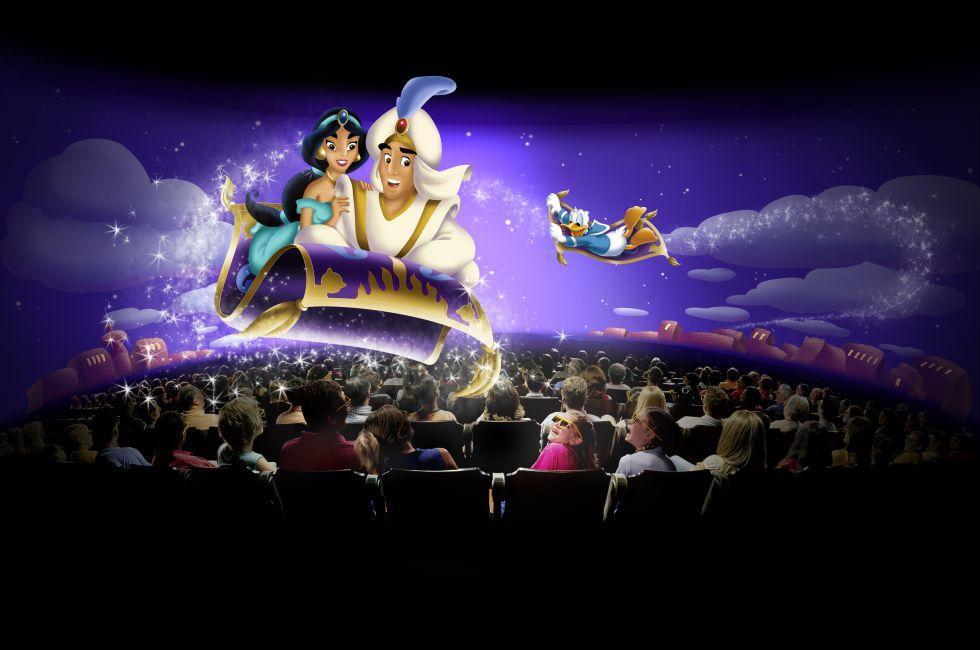 Mickey's PhilharMagic, Walt Disney World, Orlando, Florida, USA