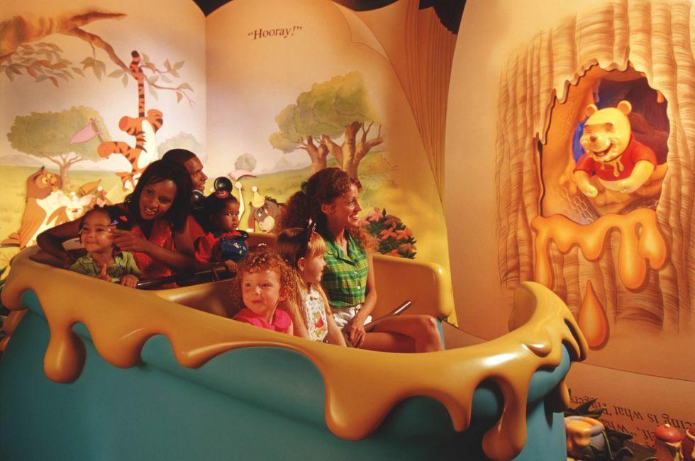 The Many Adventures of Winnie the Pooh, Walt Disney World, Orlando, Florida, USA