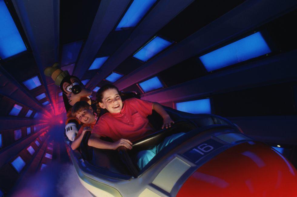 Space Mountain, Walt Disney World, Orlando, Florida, USA