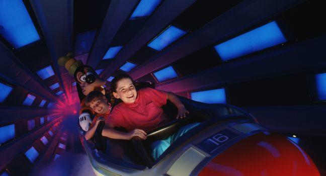 Space Mountain, Walt Disney World, Orlando, Florida, USA