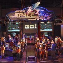 Mission SPACE ride, Walt Disney World, Orlando, Florida, USA