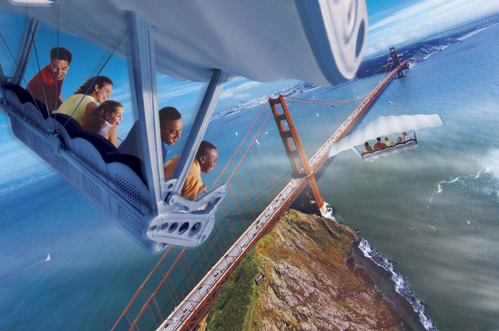 Soarin', Walt Disney World, Orlando, Florida, USA