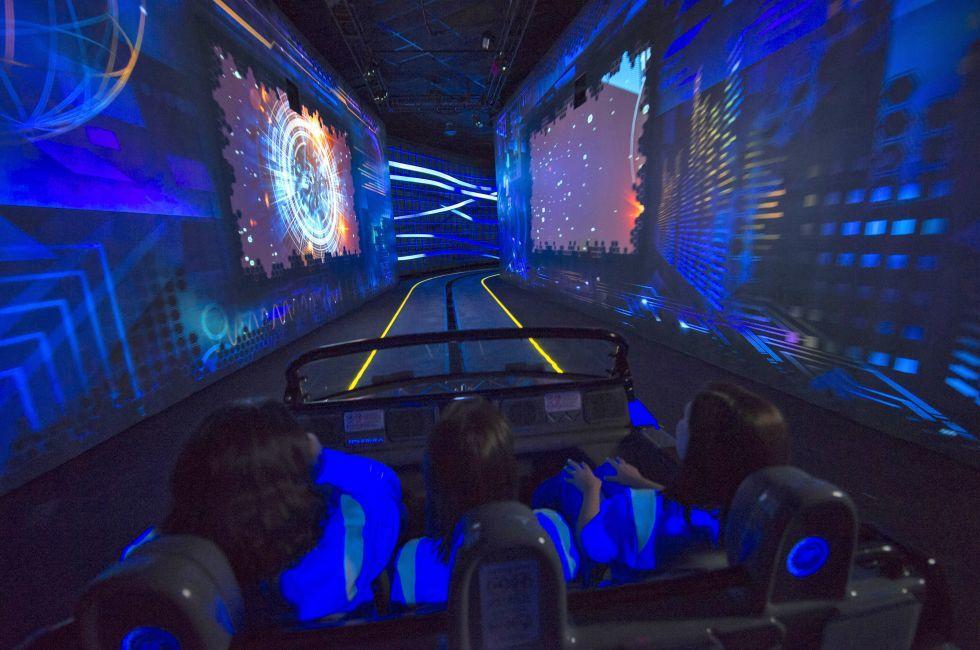 Test Track ride, Walt Disney World, Orlando, Florida, USA
