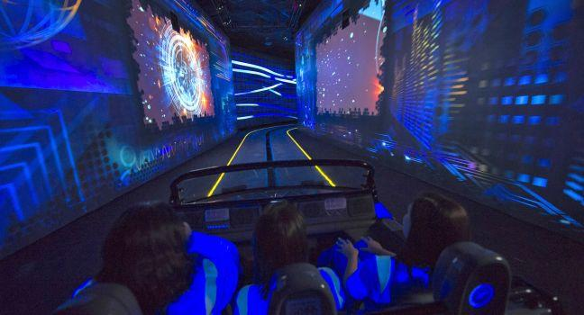 Test Track ride, Walt Disney World, Orlando, Florida, USA