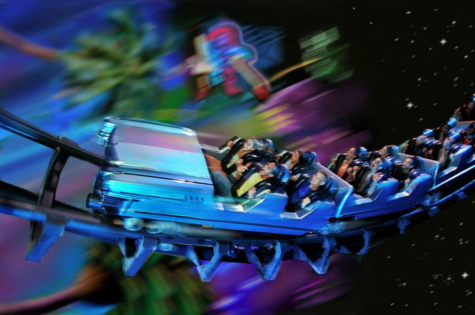 Rock 'n' Roller Coaster Starring Aerosmith, Walt Disney World, Orlando, Florida, USA