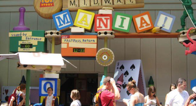 Toy Story Midway Mania!, Walt Disney World, Orlando, Florida, USA