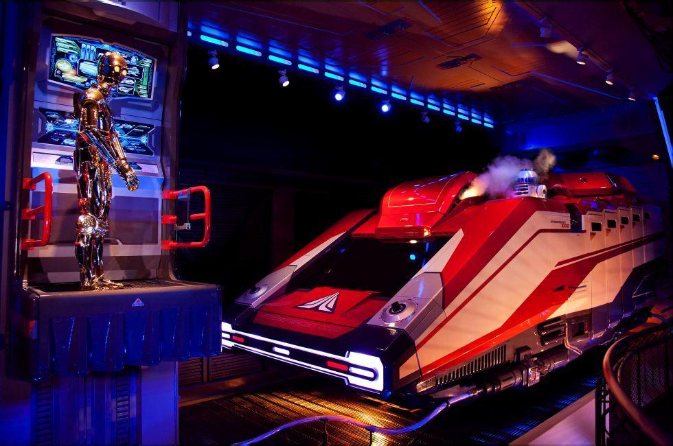 Star Tours The Adventures Continue, Walt Disney World, Orlando, Florida, USA