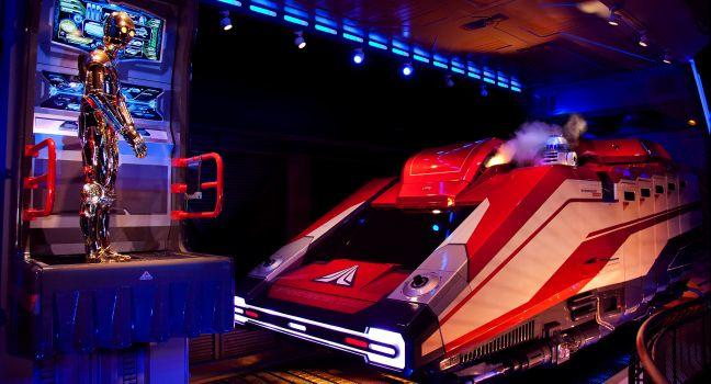 Star Tours The Adventures Continue, Walt Disney World, Orlando, Florida, USA
