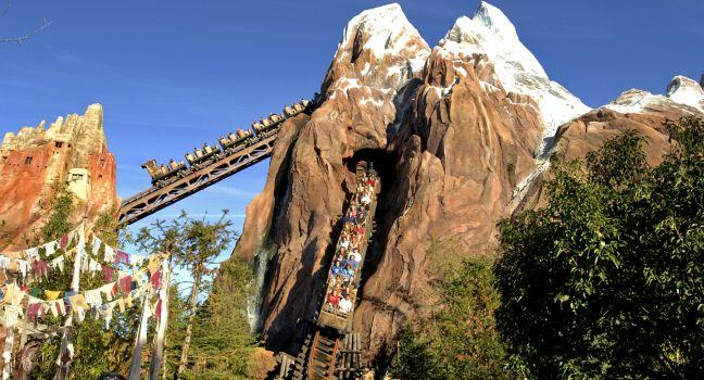 Expedition Everest, Walt Disney World, Orlando, Florida, USA