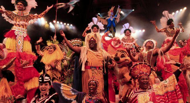 Festival of the Lion King, Walt Disney World, Orlando, Florida, USA
