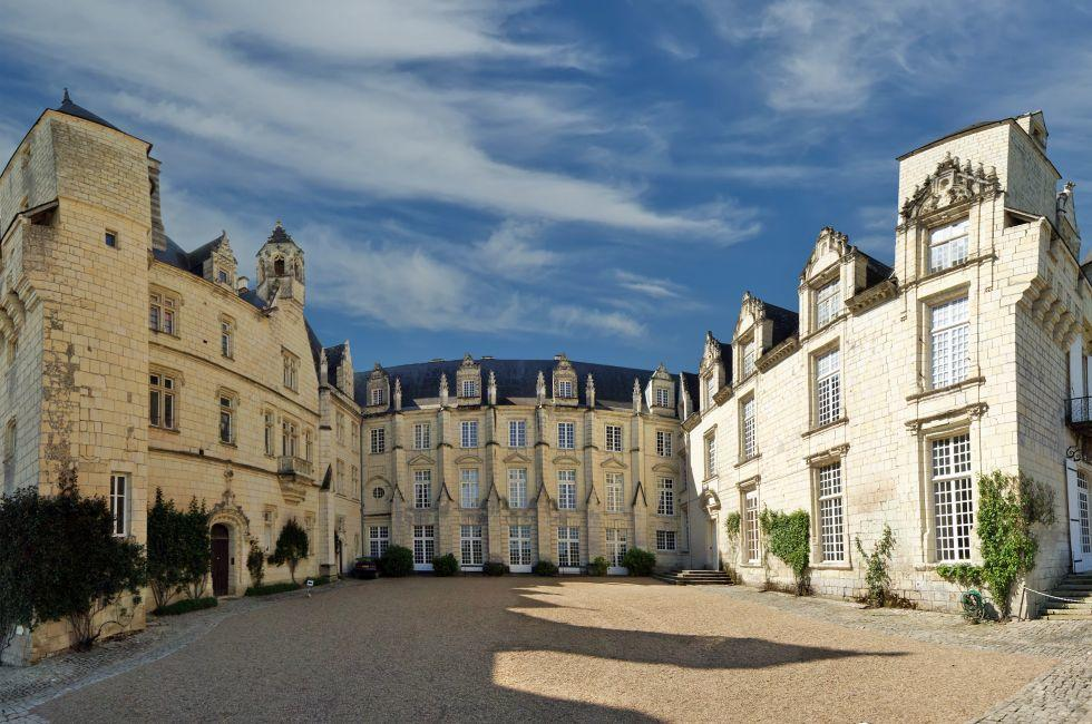 Exterior, Usse Castle, Usse-Rigny, The Loire Valley, France