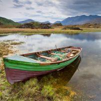 Boat, Lake, Mountains, Killarney, The Southwest, Ireland