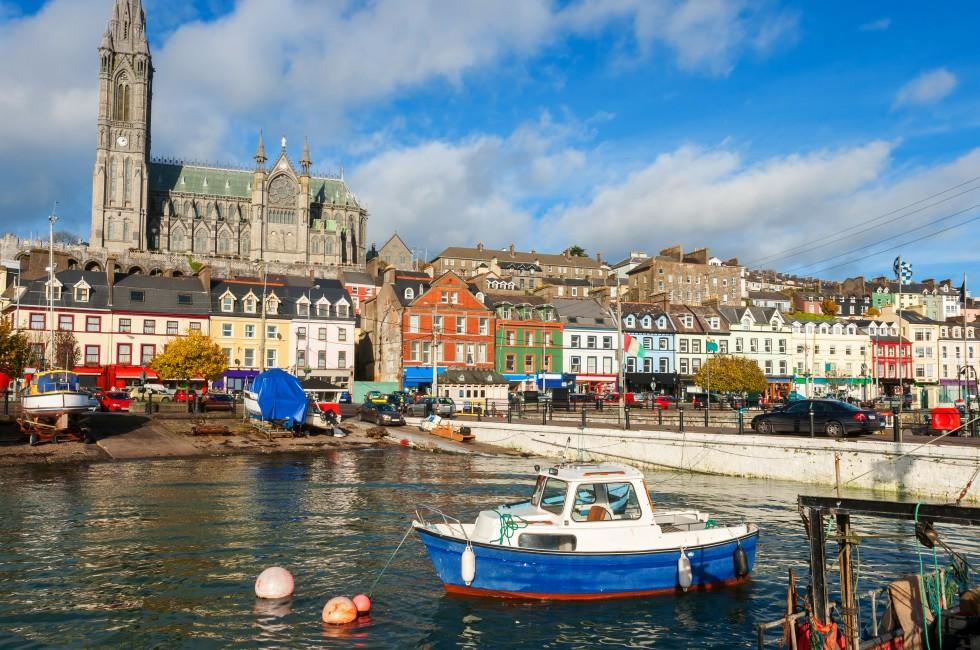 Boats, Waterfront, Harbor, Cobh, County Cork, Ireland