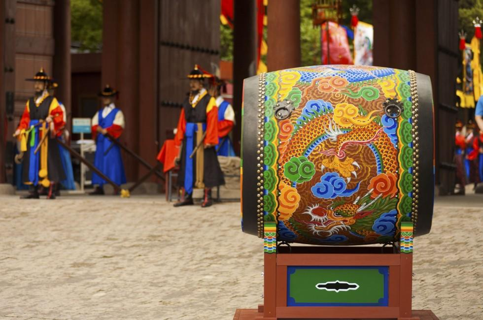 Drums, Ceremony, Deoksugung Palance, Seoul, South Korea