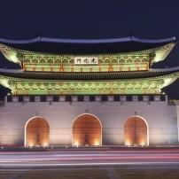 Gwanghwamun Gate;,Geyongbokgung Palace, Seoul, South Korea