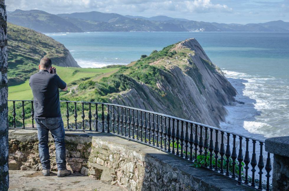 Man, Zumaia, Basque Coast, Spain