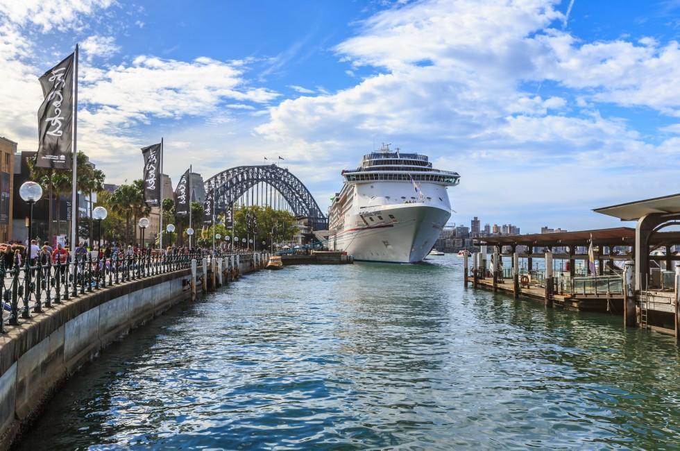 Waterfront, Cruise, Docks. Sydney, Cape Breton Island, Canada,