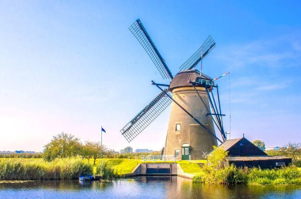Windmill, Kinderdijk, The Netherlands