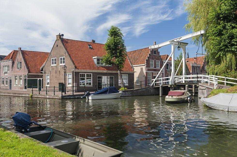 Canal, Monnickendam, The Netherlands