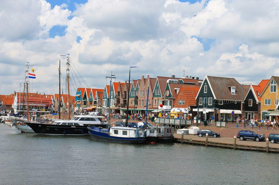 Ships, Volendam, The Netherlands