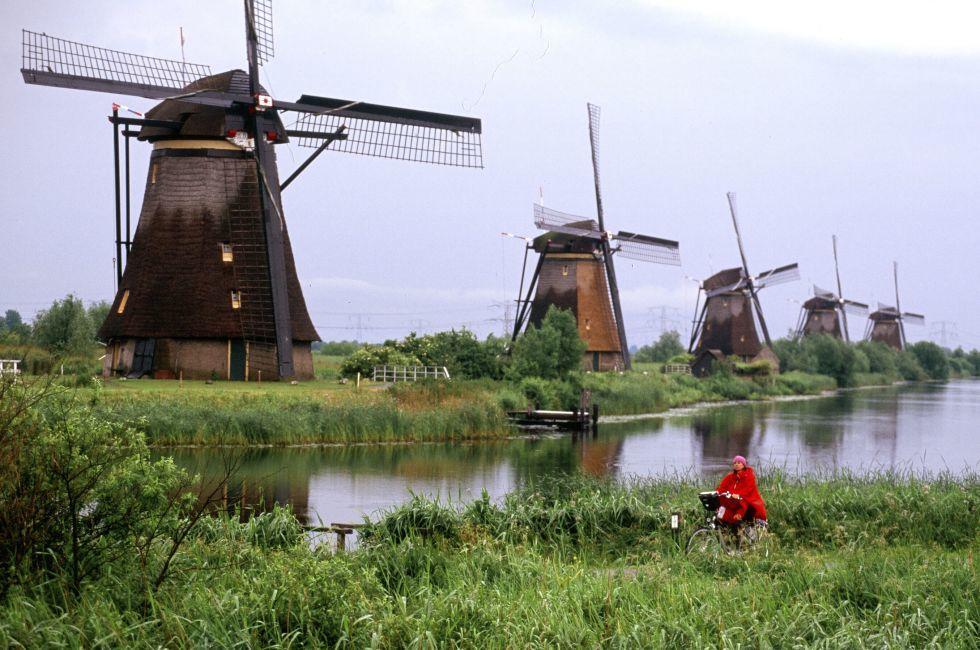 Kinderjik Windmill, Netherlands