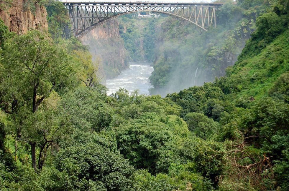 Bridge, Batoka Gorge, Victoria Falls, Zambia