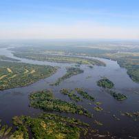 Zambezi River, Zambia, Zimbabwe, Africa