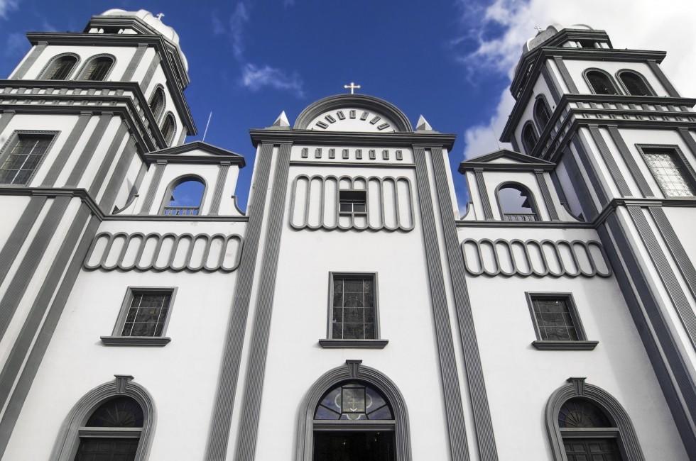 Church of Suyapa, Tegucigalpa, Honduras.