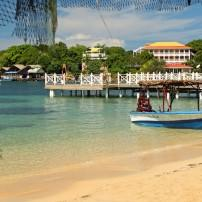 Boat, Dock, West End Beach, Roatan, Honduras
